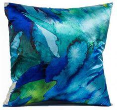 Jordan Carlyle Ocean Watercolor Pillow