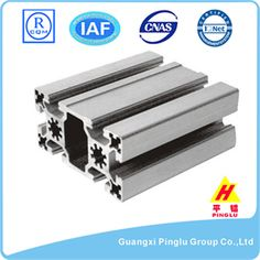 B Type T Slot Aluminum Profile, Mill Finish Name: B Type T Slot Aluminum Profile, Mill Finish. Brand: Pinglu. Material: Aluminum Alloy. Grade: 6000 Series. Temper: T4-T6. Surface Treatment: Mill Finish. Certificate: ISO 9001:2008, ROHS, CE, IQNET. Color: Different Colors. Size: Same as drawings. Application: Architectural & Industrial. Award: Guangxi Famous Brand. Quality Standard: GB 5237-2008. Package: Shrink Wrap. Delivery: 15-20 days after deposit. More:http://www.pinglualuminium.com/