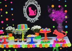 convites coloridos neon - Buscar con Google