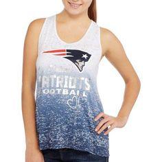 NFL Juniors Patriots Burnout Tee, Size: XS, Multicolor