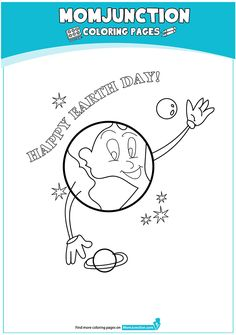 The Is Earth Day coloring Coloring Page Earth Day, Children, Kids, Coloring Pages, Health Care, Medical, Education, Reading, School