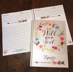 Scripture Prayer Journal Jesus Bible by PaperDollPrinting on Etsy