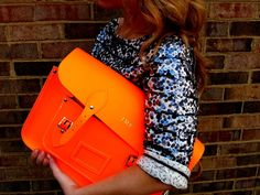 Sequins and Neon Orange   http://dahlialynnlane.blogspot.com/  How do you sparkle? Show us here—it may be featured on our Tumblr!     http://theglitterguide.tumblr.com/submit