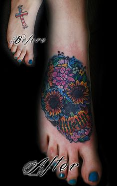 foot cover up copy by Mez Love - Amazing site and an astonishing 30,000 #tattoo designs to choose from and all unique at http://tattoo-qm50hycs.canitrustthis.com