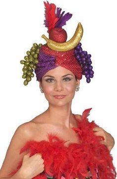 e4d4a04a4 9 Best fruit hats images in 2013   Carmen miranda, Costumes, Headdress
