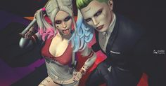 Joker: Would you die for me? Quinn: Yes Joker: No,no,no That's too easy. Joker And Harley Quinn, Love You All, Imvu, Sims 4, My Hair, Halloween Face Makeup, Second Life