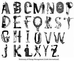 person + animal letters contorted