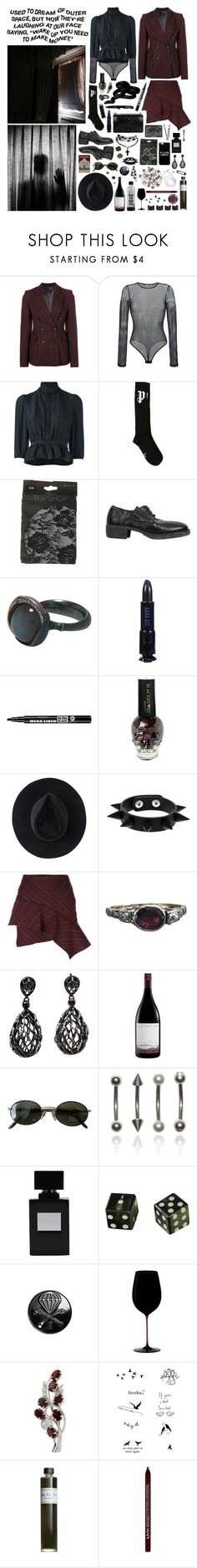 """""""you can't live without problems if you lie"""" by nothingisnormal ❤ liked on Polyvore featuring Isabel Marant, Faith Connexion, Dsquared2, Palm Angels, Guidi, Ole Lynggaard, Chanel, Gerber, Anna Sui and Bourjois"""