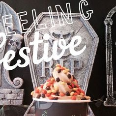 Almost Halloween? Are you ready? #coolberrycafe #froyo #healthy #halloween #halloweenparty #georgemason #fairfax #Crepes #dessert #treat #holiday #fall