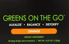 It Works! Greens on the Go, 30 Count, Orange * You can find out more details at the link of the image.