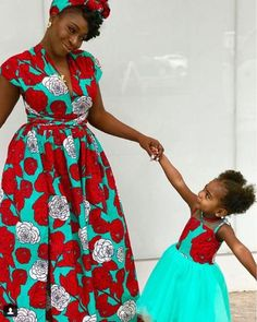 Zahra Items similar to Africa dresses african wedding dresses mummy and me african weddings african fashion african women on Etsy African Dresses For Kids, Latest African Fashion Dresses, African Print Dresses, African Print Fashion, Girls Dresses, African Attire, African Wear, African Women, African Girl