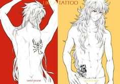 Fanfic / Fanfiction de Saint Seiya - Like a Tattoo