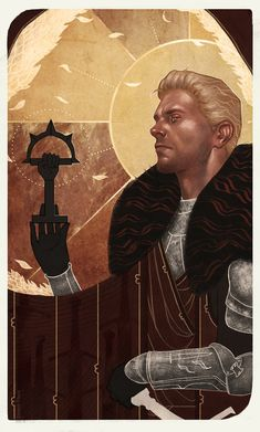 Ser Cullen Rutherford, Commander of the Inquisition ForcesBecause Cullen's card in-game looks a tad…strange, and I thought that as an advisor he deserved a bit more. But mostly: how cou...