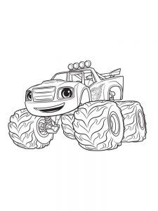Blaze And The Monster Machine Coloring Pages Free Coloring Sheets Coloring Pages To Print Coloring Pages Free Coloring Sheets