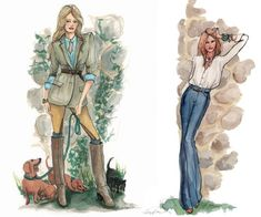 Street Style Fashion Illustrator- Inslee Haynes