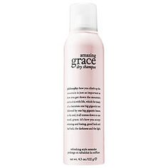 As a connoisseur of dry shampoos, I must try this and I LOVE Philosophy