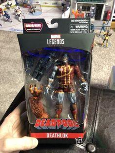 Marvel Legends Deathlok Deadpool 6-Inch Figure BAF Sasquatch
