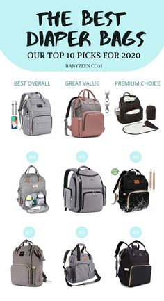 Want to find the best diaper bag backpack for your newborn or toddler? Check out the top 10 recommendations for - Diaper Bags - Ideas of Diaper Bags Best Backpack Diaper Bag, Boy Diaper Bags, Diaper Bags For Girls, Toddler Diaper Bag, Diaper Babies, Kate Spade Diaper Bag, Mini Backpack, Kanken Backpack, Bebe Love