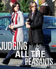 Without the text, this is a really great picture! #evilregal #rumbelle #OUAT