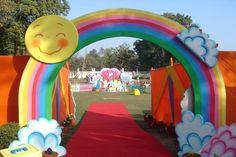 Image result for care bear rainbow birthday invitation