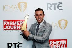 Nathan Carter winner of the Live Act Of The Year at the inaugural RTÉ Irish Country Music Awards on RTÉ One. Picture: Andres Poveda