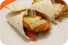 Mexicaanse Wraps met Krokante Kip en Guacamole