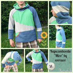 """hoodie pattern """"Miro"""" by Worawo"""