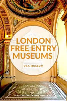 FREE entry London museums — 10 reasons to visit the V&A Europe Travel Guide, Travel Guides, Travel Destinations, Budget Travel, Travel Abroad, Travel Advice, London Travel, Travel Uk, London Free