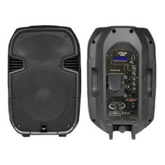 PylePro PPHP127AI 12-Inch 1200 Watt Powered 2 Way Full Range PA Speaker with Built-In iPod Dock USB SD and Remote control by Pyle. $217.19. This is the ultimate loudspeaker, with 1,200 watts of distortion-free power, an iPod dock, and USB/SD MP3 player. Now you can play your favorite music using your own MP3 player on our powered, wide-coverage, two-way loudspeaker. It pushes everything from pounding bass to a chirpy high-end, all in one amplified cabinet. This speaker come...