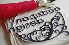Linoleum  stamp tutorial