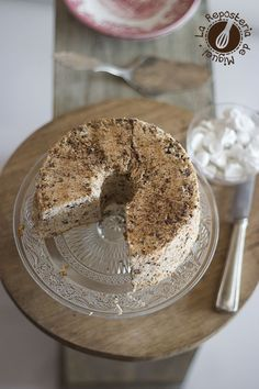 Angel Food Cake Stracciatella