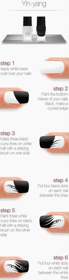 Easy Nail Art Ideas and Designs for Beginners (20)