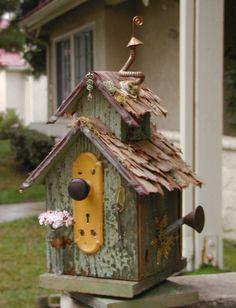 Another birdhouse ....good idea but needs an entrance hole...