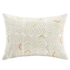 Found it at Joss & Main - Henderson Embroidered Cotton Lumbar Pillow