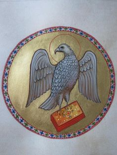 Whispers of an Immortalist: art (apostles and evangelists) / The Eagle of St. John