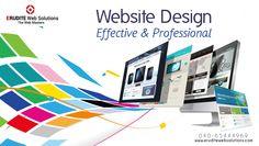 Website Design:- Effective & Professional  more info-> http://www.eruditewebsolutions.com/services.php #WebsiteDesign #Development #CustomWeb #WebDesigning