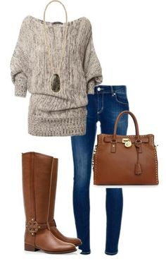 A casual winter look  #fashion #shopping