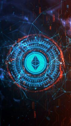 Ethos cryptocurrency desktop wallpaper
