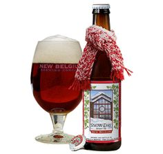 Winter Ale by New Belgium - Snow Day.  One more thing to love about the changing seasons... NEW BEER!