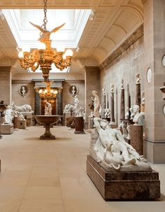 Art Gallery in your own home: Chatsworth House, Derbyshire, England, Sculpture Gallery