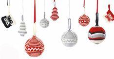 FREE MillaMia Christmas ornaments patterns - LoveKnitting blog