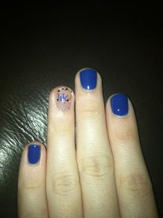 @Molly Coffey's awesome gameday nails!  #kentucky