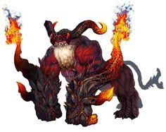 Monster Design blade and soul Monster Art, Monster Concept Art, Monster Design, Monster Hunter, Creature Feature, Creature Design, Magical Creatures, Fantasy Creatures, Konosuba Wallpaper