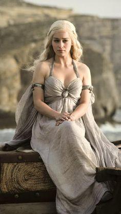I might have a second option besides steampunk as my costume of choice.... Khaleesi Daenerys Targaryen!