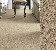 Shaw carpet in our Clear Touch Polyester made from recycled soda bottles. Style Sounds Amazing in color Sunlit Sand. Shaw Carpet Tile, Carpet Flooring, Best Flooring, Grey Flooring, Flooring Ideas, Floors, Best Carpet, Diy Carpet, Shaw Rugs