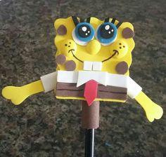 Ponteira de lápis do Bob esponja