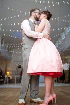 Vintage Travel Inspired Wedding: Emily & Adam
