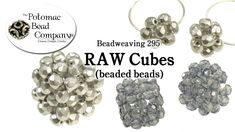 This tutorial from The Potomac Bead Company shows you how to use RAW (Right Angle Weave) to make beaded beads with your choice of beads. Enjoy! Our Website: ...