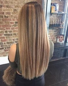 Hairstyles for long straight hair 2019 Balayage Hair, Ombre Hair, Blonde Hair, Pretty Hairstyles, Straight Hairstyles, Casual Hairstyles, Elegant Hairstyles, Hair Inspo, Hair Inspiration