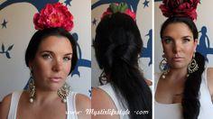 Mystix's lifestyle: 2 Peinados fáciles para la Feria en  2 minutos cada uno www.mystixlifestyle.com
